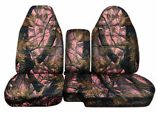 CC 91-97 FORD RANGER  CAMO CAR SEAT COVERS 60-40 + or no CONSOLE COVER,CHOOSE