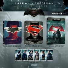 Batman v Superman 3D + 2D Blu-ray Steelbook Lenticular Novamedia Exclusive