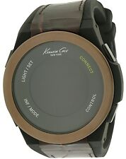 Kenneth Cole New York Connect Smart Tech Bluetooth Silicone Mens Watch 10023861