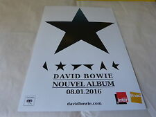 DAVID BOWIE - Publicité de magazine / Advert NOUVEL ALBUM 08-01-2016 !!!!!!!