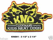 KIDS NEXT DOOR JACKET PATCH - KND01