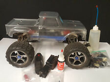 TRAXXAS NITRO REVO ROLLER-ROLLING CHASSIS 2.5/3.3 Convert to Brushless E