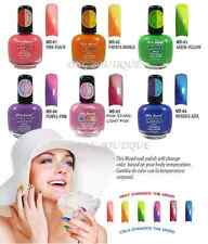 6 SET MIA SECRET MOOD COLOR CHANGING NAIL POLISH LACQUER MD *MADE IN USA *