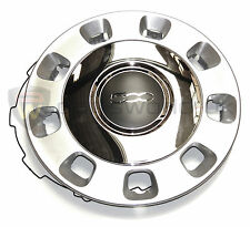 "Fiat 500 Silver and Chrome Centre Wheel Trim 14 ""  Hub Cap 50901871 GENUINE"