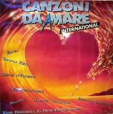 """CANZONI DA AMARE INTERNATIONAL - Autori Vari 1989 LP 12"""" Nuovo SIGILLATO"""