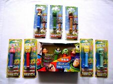 COLLECTABLE JOB LOT PEZ DISPENSERS - SEALED BUT OUT OF DATE - DISNEY/SPONGEBOB