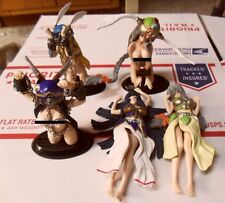 Ikusa Otome Valkyrie Gashapon Trading Figure Lot Official Japan Sexy Anime Girl