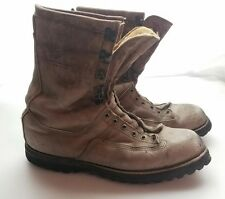 Mens Size 15  Made In the USA USA Brown Tall Work Boots Needs New Soles Gortex
