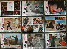 """11 chinese Lobby Card BIG SHOW DAWN Kung Fu Movie Poster 10.6x14"""" Karate 70s"""