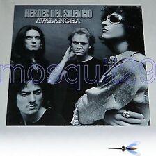 """HEROES DEL SILENCIO """"AVALANCHA"""" RARE LP 1995"""
