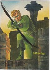 1994 SKYBOX DC MASTER SERIES FOIL CARD: GREEN ARROW #F3 ETCHED CHASE INSERT