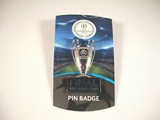 "UEFA-Champions League tm Pin ""Pokal+Final Milano 2016"" Cup Trophy CL Badge"