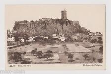 """CPA """" Environs du PUY - Château de Polignac"""