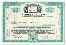 Armour-Dial, Inc. Stock Certificate (Teal)