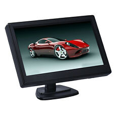 "800X480HD 5"" TFT LCD Auto Monitor Display Per Retrovisore Telecamera Retromarcia"