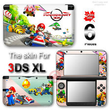 Mario Kart Aamazing Cute NEW SKIN STICKER DECAL COVER #1 for Nintendo 3DS XL