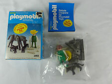 Playmobil Schaper USA 2955 Farmer & Horse  Set Klicky Box - NOS - MIB