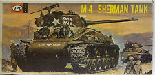ARMY : M-4 SHERMAN TANK MODEL KIT MADE BY UPC - 1/40 SCALE