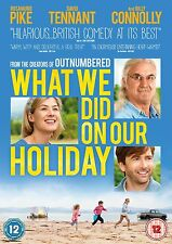WHAT WE DID ON OUR HOLIDAYS      NEW SEALED GENUINE UK DVD