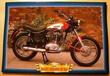 DUCATI 450 SCRAMBLER Vintage Classic Moto Course Moto Années 1970 Photo 1970