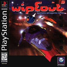 Wipeout - PS1 PS2 Playstation Game