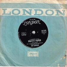 """ROY ORBISON - PRETTY PAPER - RARE 7"""" 45 VINYL RECORD - 1964"""