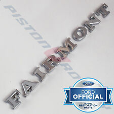FAIRMONT Boot Badge Letter SET , NEW , for XW  Ford 351 Trunk Letters Badges