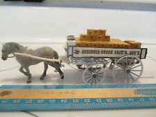 1997 Matchbox Collectible YYNT Horse Drawn Wagon Anheuser-Bush # 36791