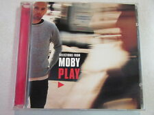 SELECTIONS FROM MOBY PLAY 5 TRK 1999 V2 PROMO SAMPLER CD ELECTRONIC MUSIC OOP