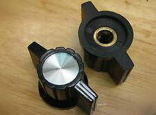 5,Silver Top Chickenhead Rotary Switch Pointer Knob,KS1