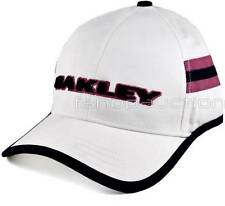Oakley Lined Trucker Cap White Mens Womens Casual Pink Golf Baseball Sport Hat