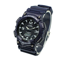 -Casio AQS810W-2A2 Analog Digital Tough Solar Watch Brand New & 100% Authentic