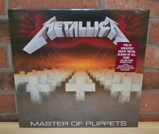 METALLICA - Master of Puppets, BLACK VINYL LP New & Sealed!