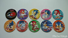 POG Wackers / Série Sonic the Hedgehog Auchan [ Full collection 10/10 ]