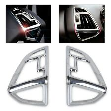 2Pcs New Chrome Inner Air Condition Vent Outlet Cover Trim for Ford ESCAPE 13-15