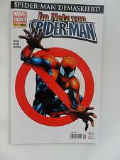 1x Comic  Marvel Im Netz von Spider-Man Nr. 9 panini Zustand 0-1/1