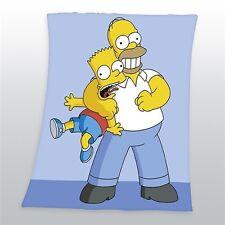 Decke Simpsons Homer und Bart 125x150 cm