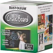 NEW RUST-OLEUM 206450 SPECIALT QUART LATEX BASED BLACK CHALKBOARD PAINT 8216517