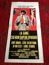 La Gang Che Non Sapeva Sparare locandina poster The Gang that Couldn't Shoot Str