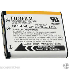 Fuji NP-45A Battery f FinePix JX250, JX200 JX205 Camera