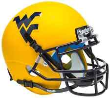 WEST VIRGINIA MOUNTAINEERS NCAA Schutt Authentic MINI Football Helmet WVU