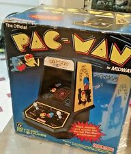 Vintage 1981 PAC-MAN Tabletop Arcade Game Coleco Midway