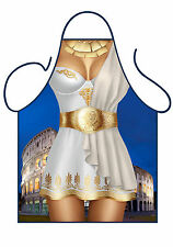 WOMENS SEXY NOVELTY APRON,SEXY GREEK GODDESS,GREEK COSTUME,SEXY KITCHEN APRON AS