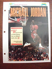 1989 Sports Pages - Champions & Record Holders Michael Jordan