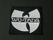 PUNK ROCK METAL MUSIC SEW/IRON ON PATCH:- WU TANG