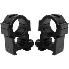 Tactical Tall Height Rugged Scope Rings Fits TIPPMANN X7 Cronus Phenom Markers