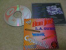 BON JOVI , TNT, CINDERELLA, LA GUNS /JAPAN LTD CD