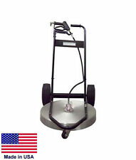 """PRESSURE WASHER SURFACE CLEANER - Commercial - 24"""" Cleaning Area - 3 to 10 GPM"""