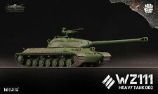 TOPOP World of Tanks Chinese WZ-111 Heavy Tank 1/72 Painted Model