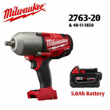 """Milwaukee 2763-20 18V 1/2""""  Impact Wrench and 48-11-1850 5.0Ah Battery NEW"""